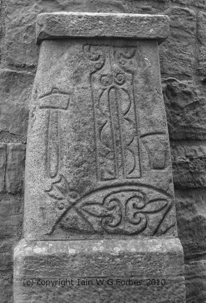Abernethy, Perth & Kinross (Class 1 stone, note incised carving)