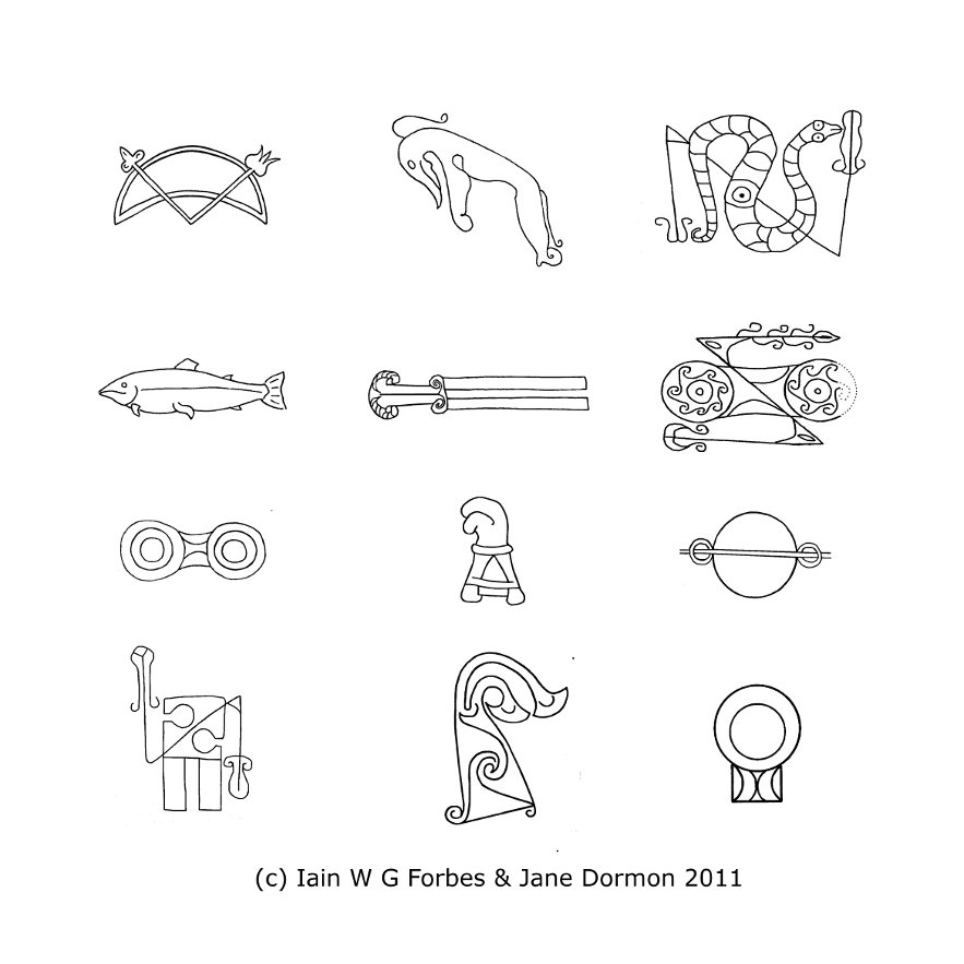 Pictish Symbols Z Rods And V Rods Of Celestial Astronomical
