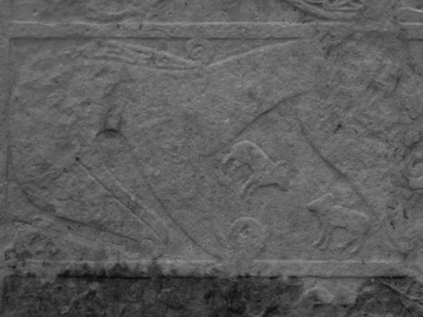 The so-called 'Pictish beast' symbol on the Shandwick stone